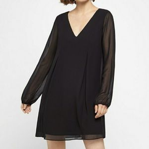 NWT BCBGeneration black mini dress - size XS